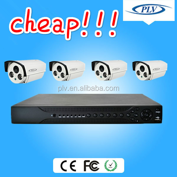 Best selling 4ch h.264 hd dvr surround security camera system,security equipments electronic