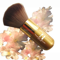 Single luxury Synthetic Kabuki makeup brush cosmetic brush
