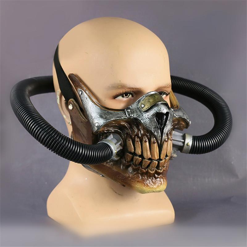 Cosermart Movie Mad Max Mask Helmet Punk Mask Skeleton Mask Halloween Devil Props Cosplay PVC Accessory Mask (6)