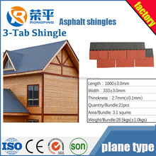 3-tab Asphalt shingle/3 tab asphalt roofing