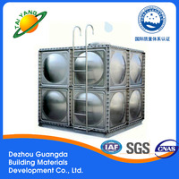 Brand new durable strong for wholesales Modular stainless steel water tank