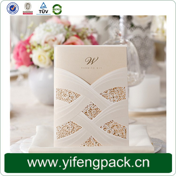 Fast Delivery Unique Handmade Chinese Wedding Invitation