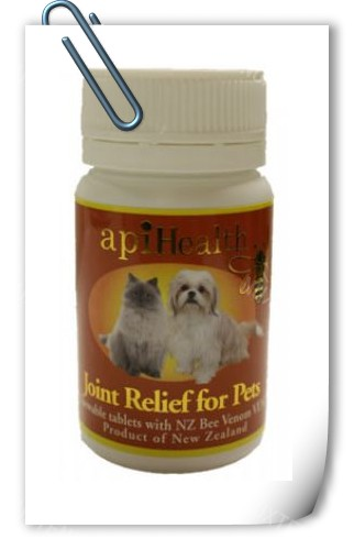 pet honey_Products for pets_Joint Relief tablets - 60x500mg