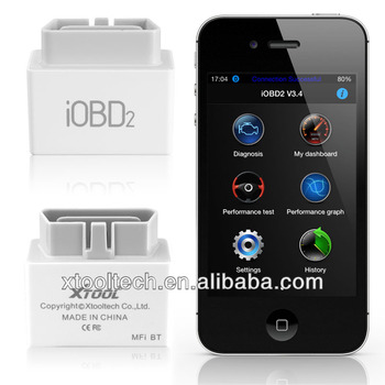 Xtool iOBD2 Low power obd2 Bluetooth adapter for obd2 compliant cars