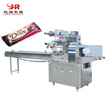 High Output Automatic Chocolate Granola Bar Flow Packing Machine