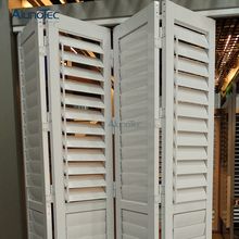 Exterior Bi fold Louvered Plantation Shutters