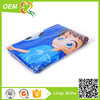 high quality 100% cotton vlour active printing carton logo cotton beach towel