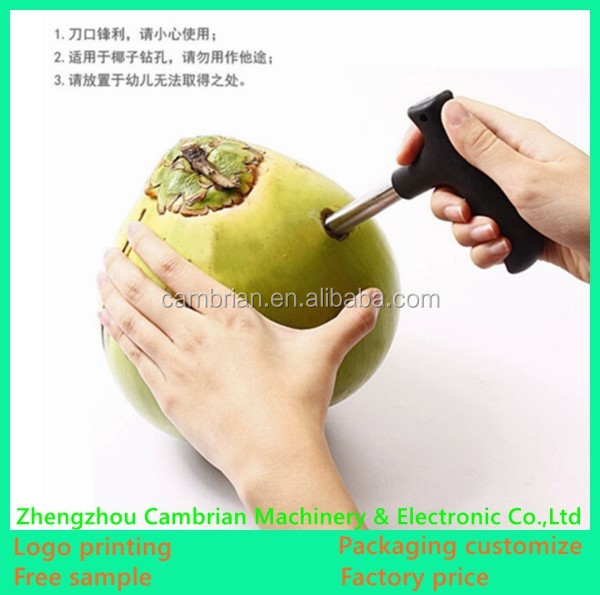 UK hot selling coconut opener coconut drill tools for getting fresh coconut water