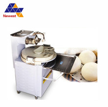 Electric pizza dough roller automatic manual bakery dough divider rounder