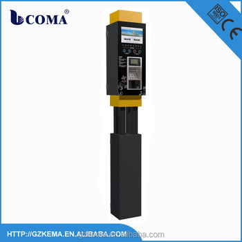 car parking meter for on street parking spaces