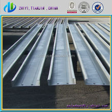 Resonabel c channel steel price / c shape steel for construction / c purlin