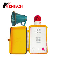 Marine Telephone KNSP-15 waterproof tunnel intercom with loudspeaker