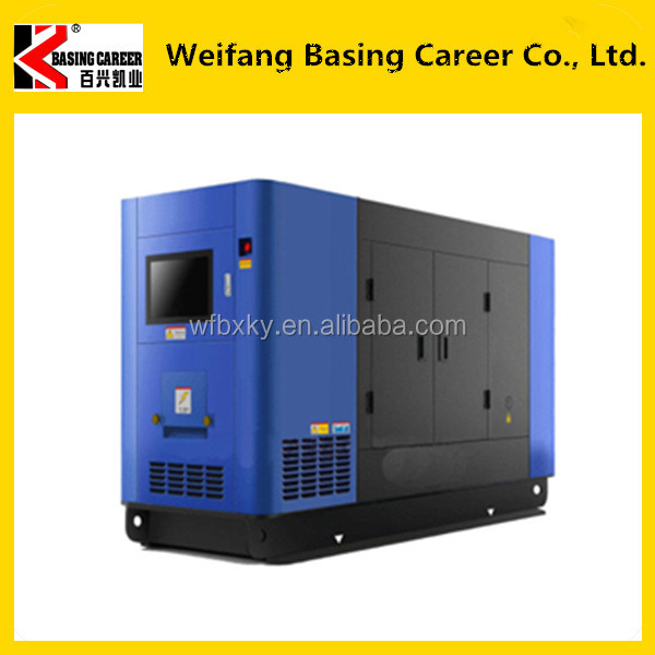High cost performance low fuel consumption original Weichai Ricardo 100kva silent generator