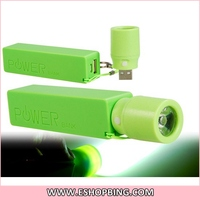 for iphone 6 Portable Mobile Power Bank Case with LED Flashlight (without Battery)