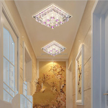 High quality wholesale ceiling corridor lamp crystal ceiling decoration light
