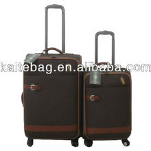2012 fashion top grade lastet style professinal beautiful newest president travel Carry-on trolley foldable PU luggage case