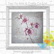 DY037 80x80 100% handpainted 3d flower oil painting on canvas