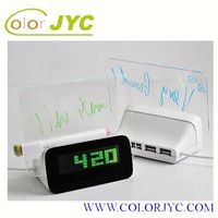 J517 message lcd display board sunrise alarm clock