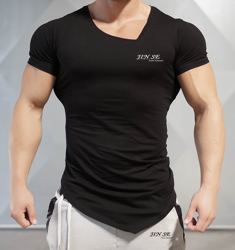 2017 Summer Hot Sale High Quality Custom Sports Fitness Clothing And Gym Wear Mens T Shirts