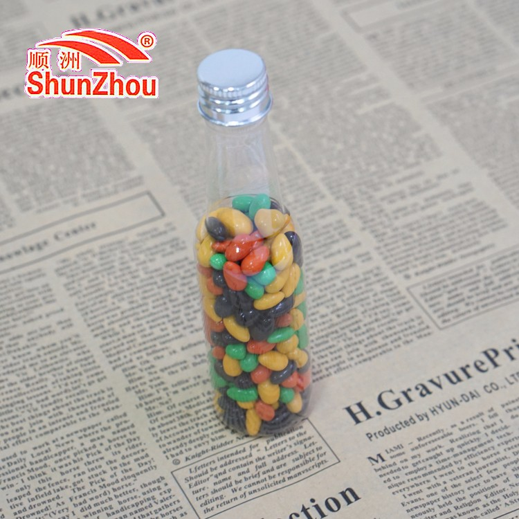 55g beer bottle multi color chocolate coated crispycrispy sunflower seed candy