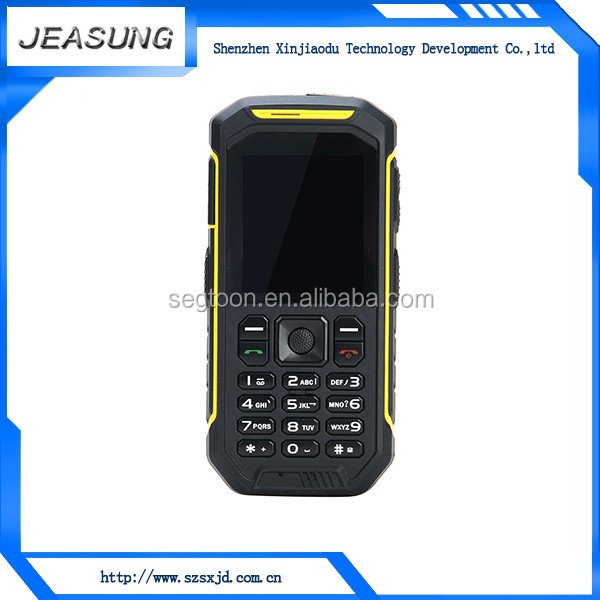 IP68 Wholesale Dual Sim Big Battery walkie talkie bluetooth , fancy cell phone covers