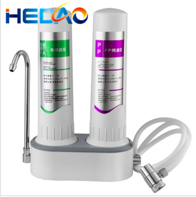 Meltblown microfiltration membrane filter water purifier systems