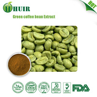 Huir supply Green Coffee Bean Extract/Green Coffee Bean Extract/Green coffee berry extract/50% Chlorogenic acid