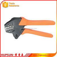 VH2-04B mini crimping terminals non-insulated tabs and receptacles ratchet crimping plier tools