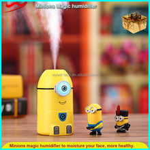 Minion humidifier / cute table yellow simple floor standing ultrasonic humidifier