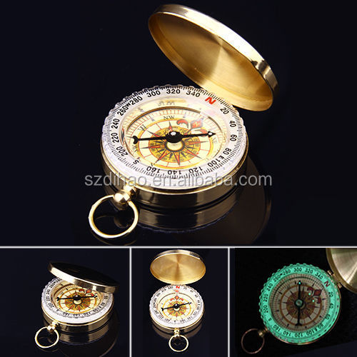DIHAO Qibla Direction Finder Compass Manufacturer,Magnetic Compass Keychain,Military Compass In Tinbox
