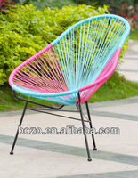 rattan swing egg chair/garden Acapulco Chair /