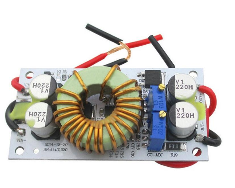 DC-DC 250W 10A Constant Current Step-up power module adjustable 8.5-48v to 10-50v for LED Driver Module
