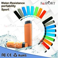 Hot sell waterproof powerbank Amazon Outdoor Shockproof Dustproof water proof phone battery charger 2600mah portable power bank
