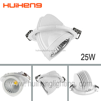 CREE COB High quality LED Downlight anti-glare 25Watt 20W Dimmable LED downlight