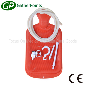 Hot Water Bottle Enema Douche Tube