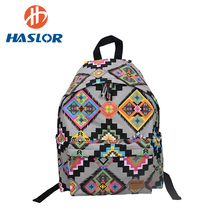 <strong>Fashionable</strong> And Attractive Packages Canvas Backpack For Teenager