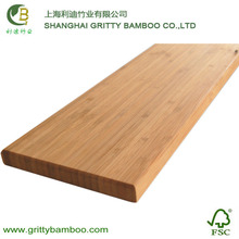 Gritty waterproof outdoor natural solid bamboo decking flooring