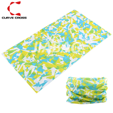 100% Polyester Sublimation Printed Cycling Bandana Custom Brand Bandana with Baby and Adult Size