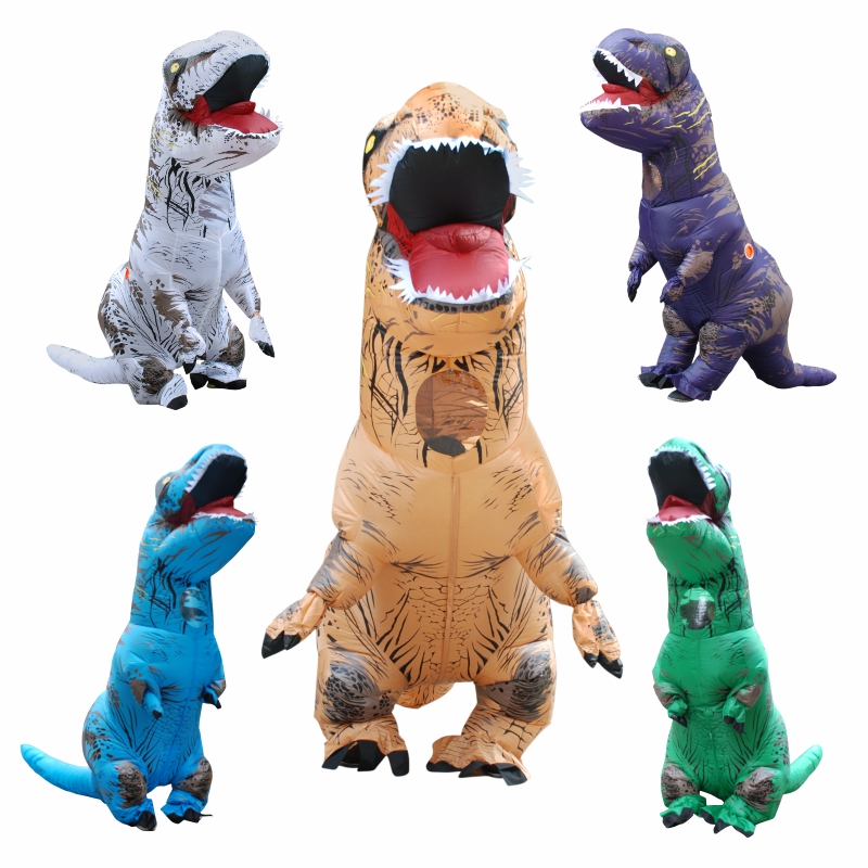 Inflatable Dinosaur Toys Walking T-REX Costumes for Adult