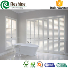 custom horizontal window plantation shutter exporter