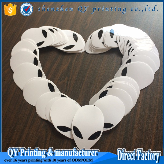 Waterproof printer cutting sticker vinyl decal die cut sticker laser cut vinyl stickers