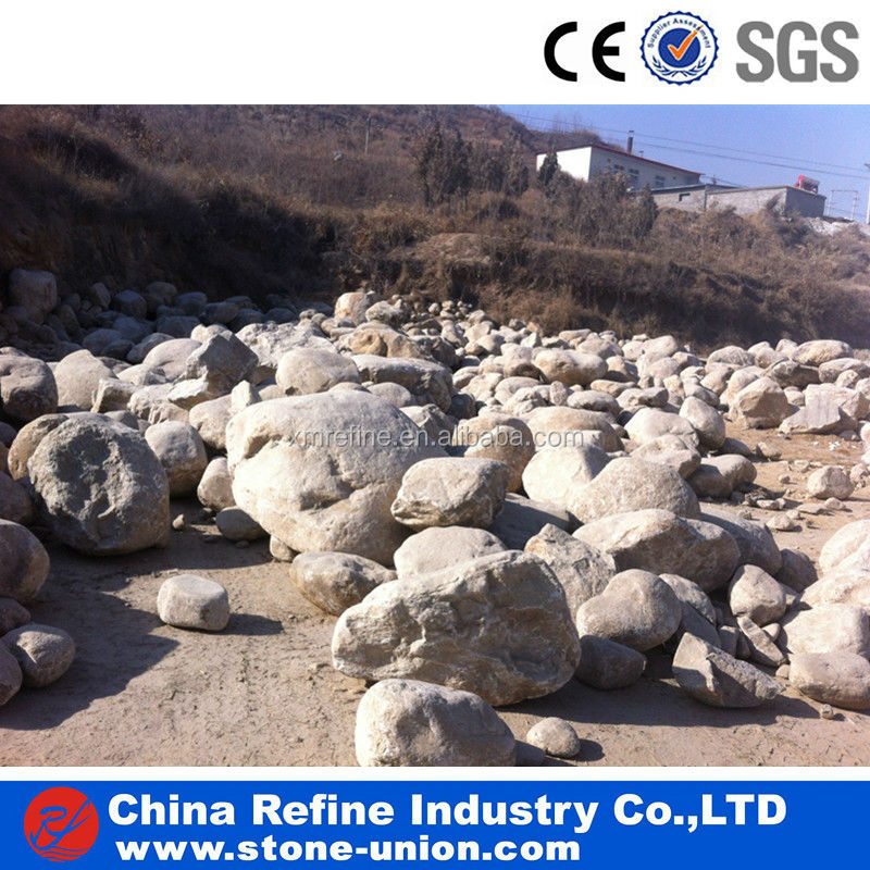 Natural large decorative river rocks