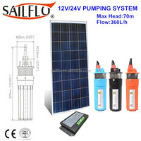 4 inch 24 volt 9300 Submersible Solar Water Well Pump 12 - 24V 9325-043-101