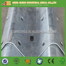 Hot dipped Galvanized Guard Rails for Roads