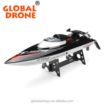 FY012 rc boat 45km/h high speed racing boat 2.4g brushless remote control mini yacht for kids toys anti-crash jet boat