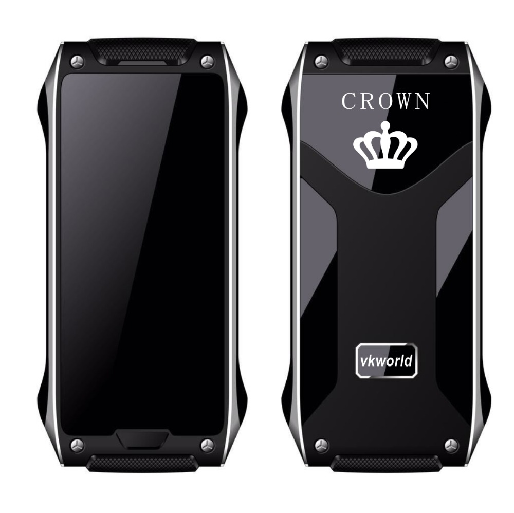 OEM Vkworld Crown V8 World Mobile Phone Gorilla Glass OLED Thermal Touch Screen Support TV Pedometer Bluetooth Call Celular