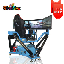 car racing electronic game Six axis Dynamic Car driving simulator price for game video
