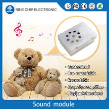 Voice squeezing box/sound toy box/plush toy sound module