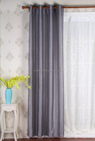 100% polyester latest Disu faux silk material drapery window curtain
