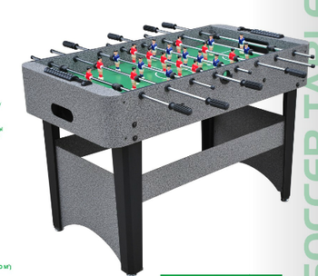 floor-standing foosball table